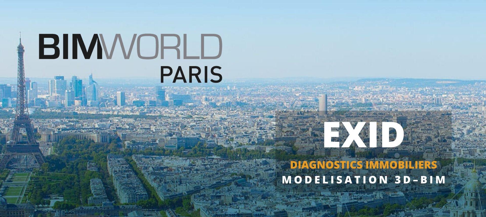 BIM World paris 2020 - Exid Diagnostic