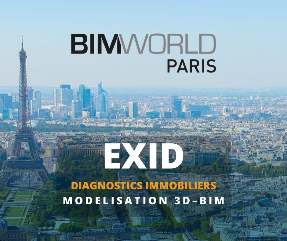 Salon BIM World 2020 - Exid Diagnostic