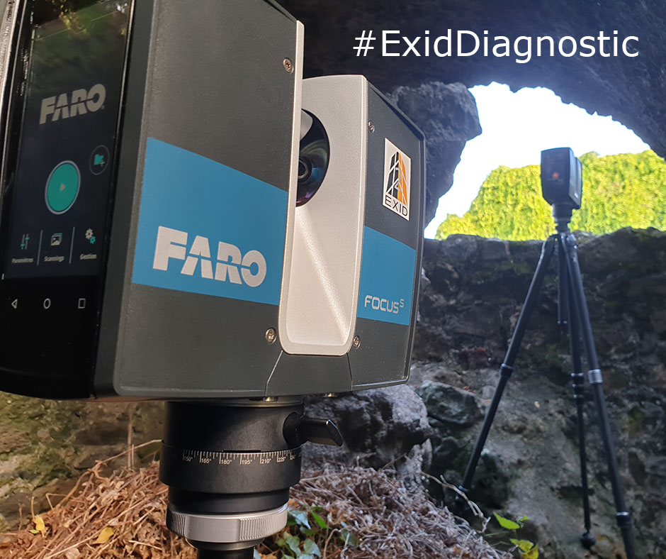 Faro scanner 3d - Exid Diagnostic