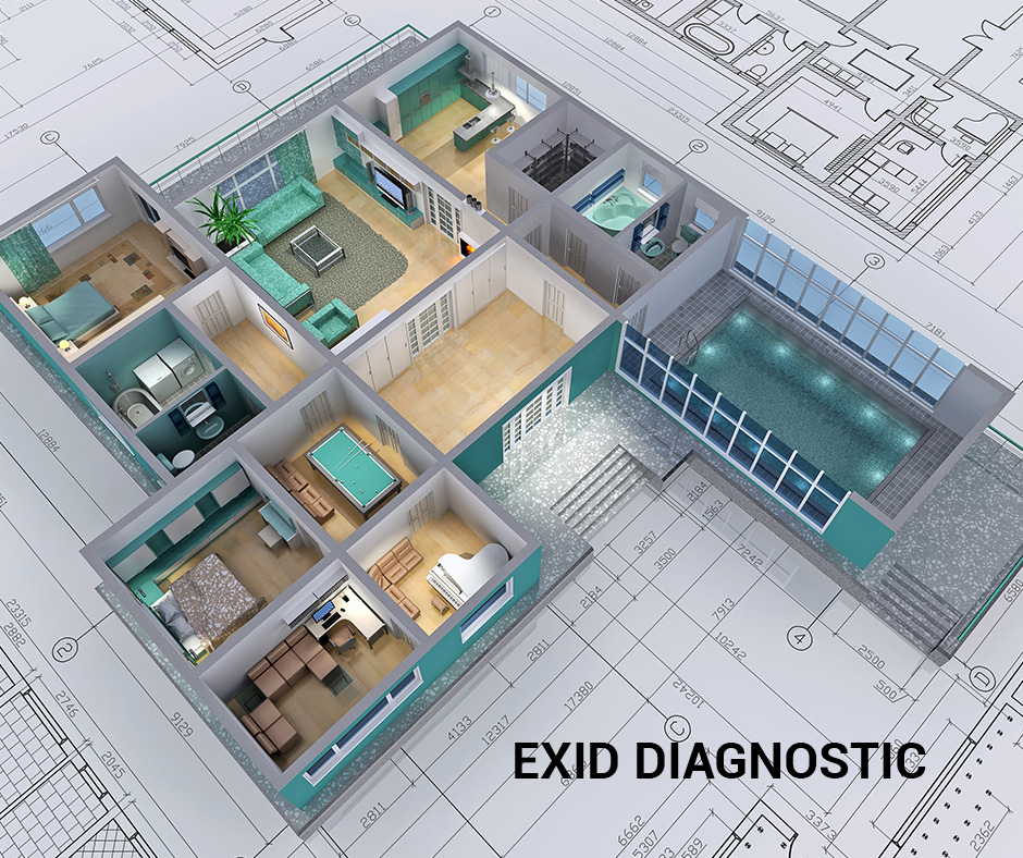 3D bâtiment - Exid Diagnostic