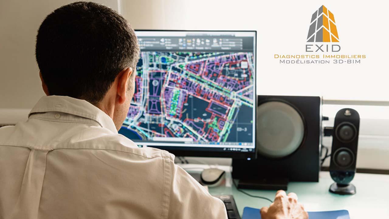 Logiciels pour maquette numérique - Exid Diagnostic