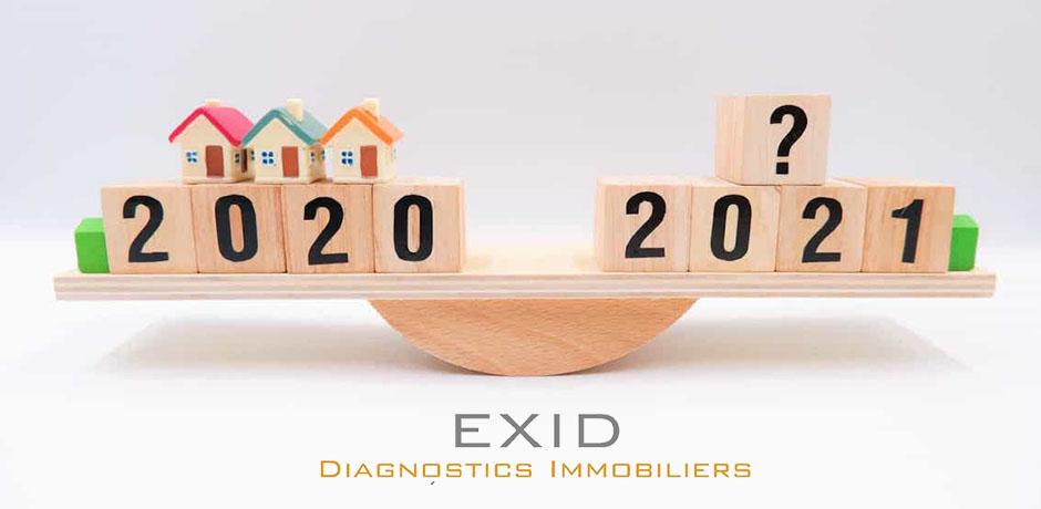 Marché immobilier 2021 - Exid Diagnostic