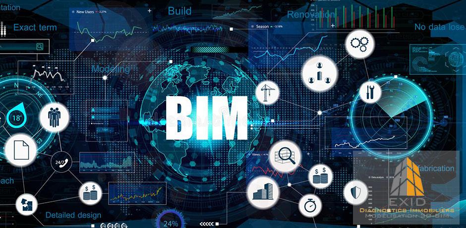 Les utilisations du BIM - Exid Diagnostic